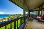 Enjoy morning coffee or an evening mai tai on your large, private lanai