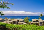 Take in the tropical views of Molokai in the distance