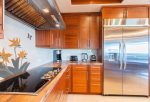 Cooking is a dream in this chef`s kitchen