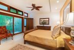 The master bedroom is the ultimate oasis after a long day exploring the island