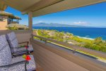 Some of the most impressive views of the whole villa are found in the master bedroom and private lanai