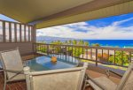 Take in the gorgeous ocean and island views in quiet privacy