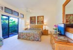 Private garden lanai off bedroom is the perfect spot to take in the fragrances of Maui