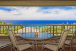 Relax on your large lanai with seating or four