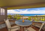 Close in sweeping ocean/Molokai/Honolua Bay/West Maui mountain views