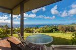 Relax on your private lanai with sweeping ocean and island views