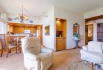Open-concept living room/dinning room/kitchen