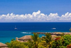 Ideal location in Kapalua with exotic ocean, costal and island views!