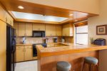 Kitchen is equipped with all the luxuries of home, including all appliances and chef tools
