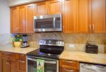 Luxury kitchen remodel with custom cabinets and granite counters