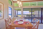 Enjoy ocean view dining from comfort of this luxury villa