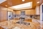 Cooking is a true luxury in this remodeled kitchen