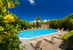Both pools are equipped with grills, bathrooms, showers, seating and herb gardens
