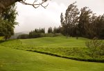 The 9th fairway of Kapalua Bay Golf course