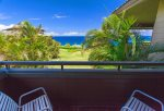 A small private lanai off the master bedroom is the perfect location of morning coffee