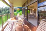 Large covered, protected lanai for easy entertaining