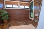 Master bathroom features twin vanities