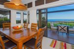 Take in the unrivaled ocean views from the comfort of your dining table