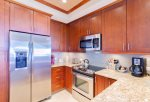 Completely remodeled kitchen with high-end custom cabinets