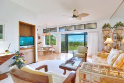 Unwind in the quiet luxury of this ocean view, one bedroom / two bathroom villa.