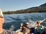 Enjoy and have fun on Bass Lake
