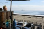 This oceanfront condo is right in the heart of downtown Cayucos