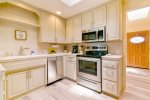 Newly remodeled kitchen features  brand new appliances