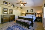Wonderfully furnished master bedroom