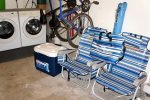 2 Bicycles and beach equipment for you to use.