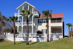 This home is located on Tybee`s famous Officer`s Row near the Tybee Island Lighthouse on the quiet north end of the island and features spacious living areas, 2 kitchens, 6 bedrooms, a pool table, back yard BBQ Grill, large porches and easy beach access