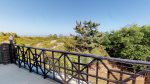 Views of the Atlantic Ocean from the upstairs balcony - No direct beach access