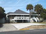 A classic Tybee beach cottage just one-half block from the beach