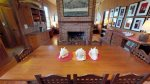 Formal dining area located on the 2nd floor-fireplace not for renter`s use