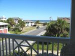3rd floor balcony off the family room with view of the Atlantic Ocean
