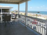 Spectacular panoramic views of Tybee beach and the Atlantic ocean from your wrap-around balcony