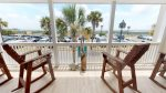 Enjoy the views and ocean breezes from your balcony