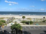 Panoramic views of Tybee beach and the Atlantic from your private wrap-around balcony