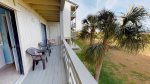 Enjoy the views of the Savannah River and Atlantic Ocean from your balcony