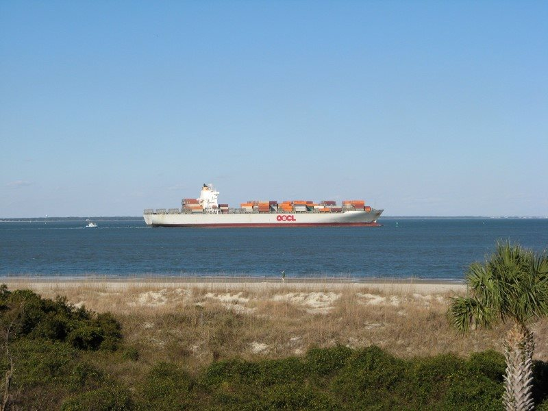 Too Watch Ships Go By From Your Private Balcony Looking Out To The Atlantic Ocean And Savannah River Entrance