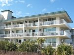 Spectacular views of the Atlantic Ocean await you from the private balcony of this Tybee resort vacation condominium