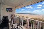 Beautiful, unobstructed views of Tybee Beach and the Atlantic Ocean await you from your private balcony
