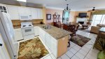 Beautiful kitchen with all the necessary appliances and kitchen related accessories