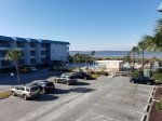 Enjoy views of the Savannah River and Atlantic Ocean from your balcony