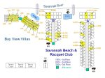 Savannah Beach and Racquet Club Community Layout