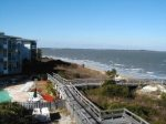 Easy boardwalk access to the beach - steps away from your condo and pool