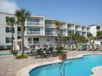 As the name implies, spectacular views of the Atlantic Ocean await you from the private balcony of this modern Tybee vacation condominium