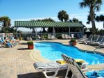 Enjoy three pools - One heated, one kiddie pool, and one regular pool with lots of deck space and direct access to the beach and restaurant