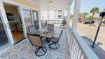Panoramic Views of Tybee Beach and the Atlantic Ocean from your Private Balcony