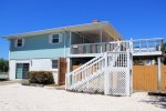 A great location for a family vacation, just one block from the beach