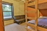 Lower level bunk beds